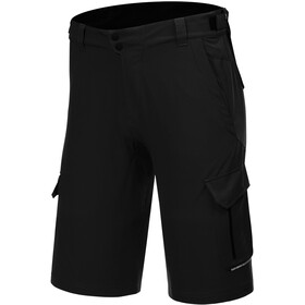 Protective P-Deer Dance Cycling Shorts Men, black